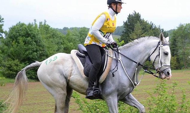 Compétition endurance Ulkan karine feral